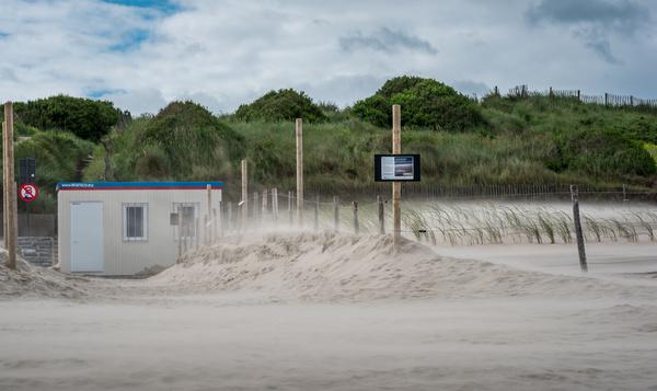 De nouvelles dunes à Ostende