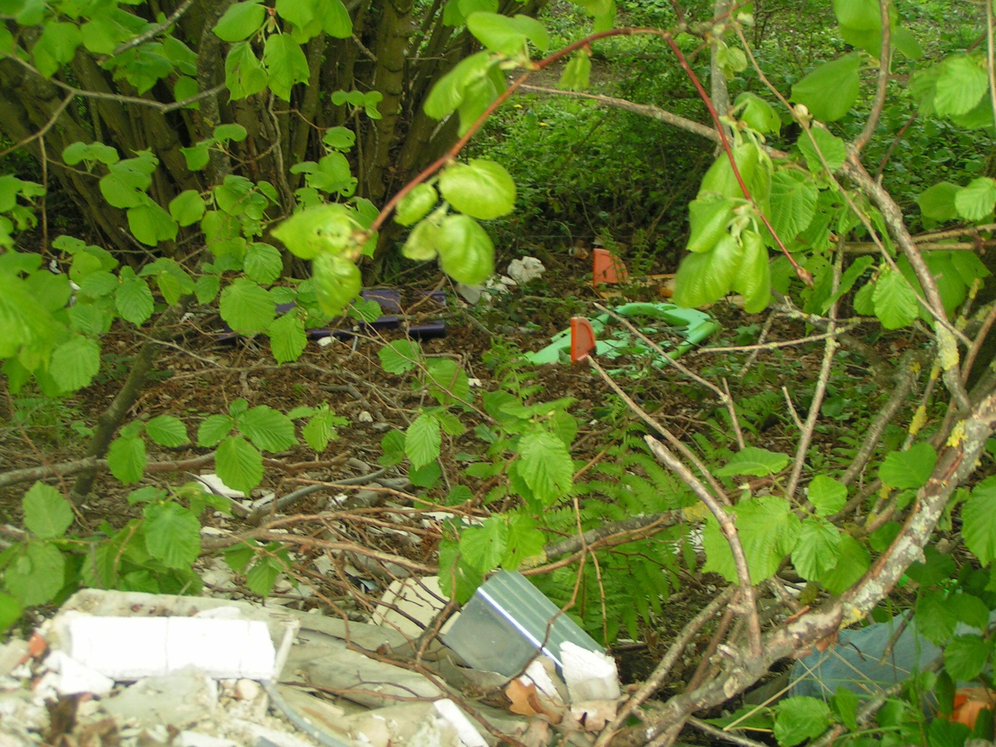 Exemple de déchets retrouvés