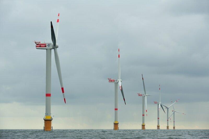 Parc éolien de Thorntonbank à Ostende