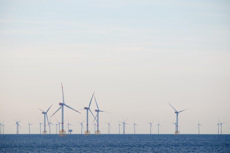 Belgische offshore windturbines